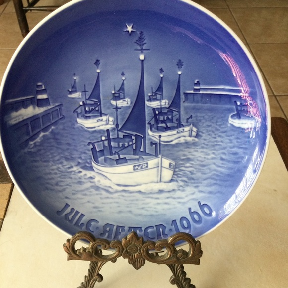 Collectible Plate By B&G 1966 Artist Kgobenhavn